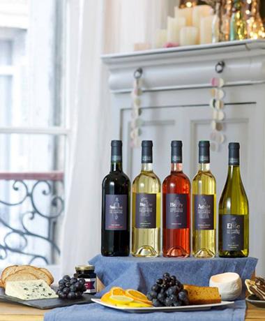 """Collection d'étiquettes pour les vignobles de LAROSE - Collection """"histoire familiale"""""""