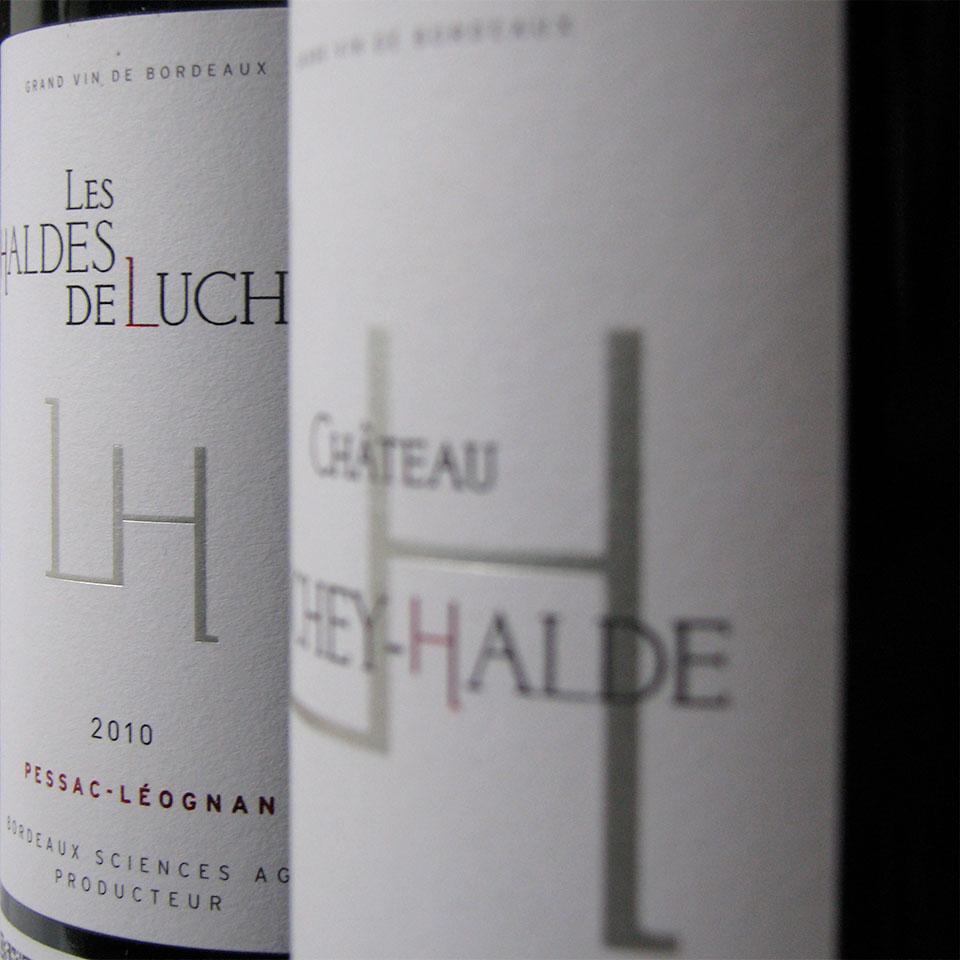 Premier vin : Luchey Halde Second vin :  Les Haldes de Luchey -  Pessac-Léognan Rouge