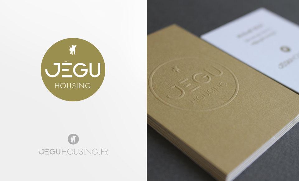 Identité - logo et cartes de visites pour architecte