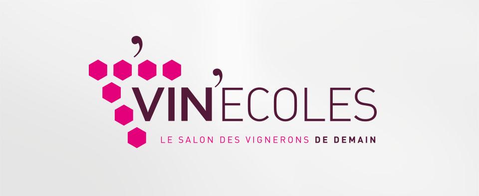 Logotype pour VIN'Ecole, salon des vignerons de demain
