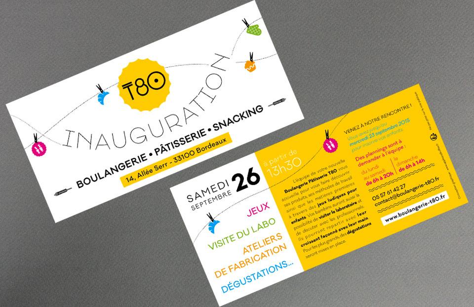 Flyer pour l'inauguration - jeux et animations pour les enfants