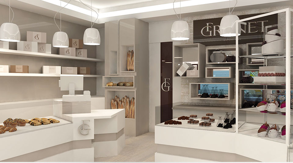 Interieur de boutique GRANET