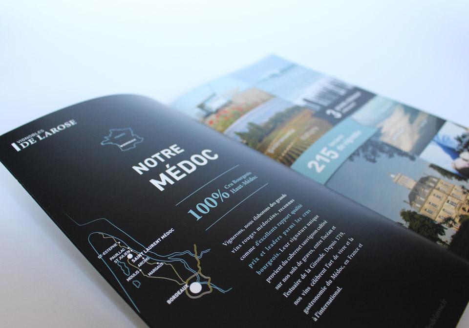 Page de présentation de la région du Médoc