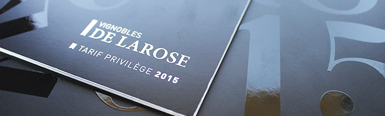 LAROSE catalogue tarifs